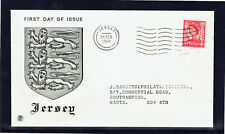 Jersey 1969 QEII Regional 4d Stamp FDC -  Addressed