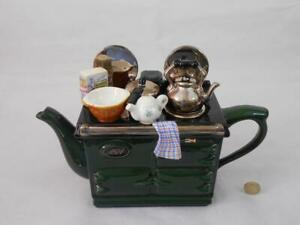The Teapottery - Formerly Swineside Ceramics - Novelty Aga Teapot.