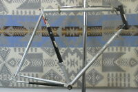 Viscount Aerospace Pro Vintage Road Bike Frame X-Large 63cm 1973 English Charity