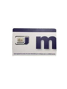NEW Metro by T-Mobile Universal SIM Card Kit