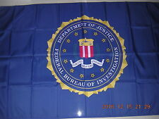 Flag of United States Us Usa The Federal Bureau of Investigation Fbi Ensign 3X5