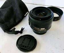 Nikon Nikkor 35 mm F/1.8G AF-S DX Lens - used, perfect condition