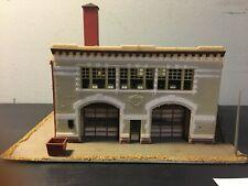 Vintage B.F.D. FIRE STATION No 89 - HO Scale - Built - Detailed