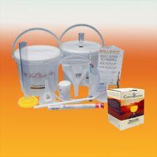 Wine Making Starter Equipment With Pinot Grigio 6 Bottle Ingredient Kit
