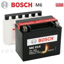 Batterie BOSCH M6 014 YTX12-BS AGM 10AH Kymco Xciting I R 300 2008-2014