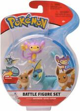 Pokemon Battle 3 Figure Pack: Vaporeon, Aipom & Eevee - Brand New