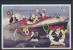 LO41024 Palau Popeye comics cartoons good sheet MNH