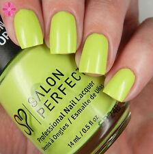 Salon Perfect BLACK LIGHT!! UV Reactive Green Nail Polish Honeydew, Honey Don't