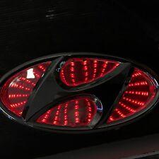 Newest LED logo Light badge for Hyundai  red blue white color USA SHIP