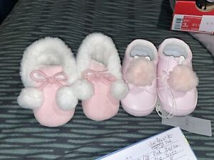 Baby girl shoes River Island 6-9 Months 1 New 1 Used
