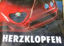 "Poster Plakat  ALFA Romeo   "" Herzklopfen"""