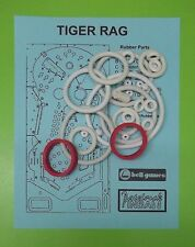 Bell Games Tiger Rag pinball rubber ring kit