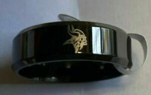 Minnesota Vikings Titanium Ring, style #1 sizes 5-14