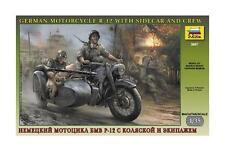 Zvezda  1:35  GERMAN MOTORCYCLE R12  ZVE3607