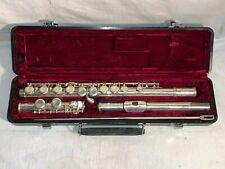 JUPITER JFL 507-II  STUDENT silver plate FLUTE musical instrument + Case