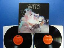 THE WHO  THE STORY OF THE WHO polydor Uk A1B2 1stPR 2LP MINT