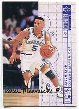 1994-95 Collector's Choice International Spanish Gold Signature 377 Jason Kidd