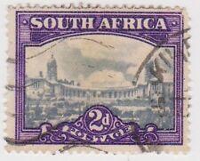 (RSA93)1926 SouthAfrica 2d blue &violet union build(A)