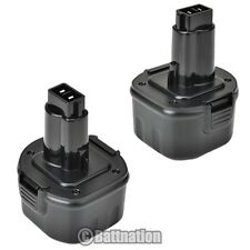 2 NEW 9.6V Battery for DEWALT DE9036 DE9061 DE9062 DW9061 DW9062 9.6 VOLT Drill