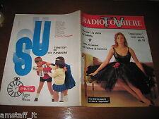 TV RADIOCORRIERE 1963/6=COVER LIANA ORFEI=GINO BRAMIERI=FESTIVAL DI SANREMO=
