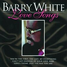 """BARRY WHITE """"LOVE SONGS"""" CD NEUWARE!!!!!!!!!!!!!!!"""