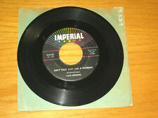 """FATS DOMINO 45 RPM - IMPERIAL 5723 - """"AIN'T THAT JUST LIKE A WOMAN/WHAT A PRICE"""""""