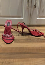 sze 3 (36) top quality expensive SCHUH red stiletto sandal with beautiful detail