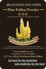 99.5% Shell Broken Pine Pollen Powder 1.77 Oz.   certified organic raw and wild