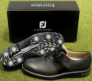 FootJoy 2021 DryJoys Premiere Series Packard Golf Shoes Black 13 Medium #85618