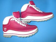 TIMBERLAND WOMEN'S ANKLE BOOTS FUCHSIA/WHITE/GREY SIZE 7 M,85399