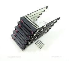 "5x2,5""Hot SwapTray SATA SAS Caddy Rahmen original HP Proliant G5 G6 G7+Schrauben"