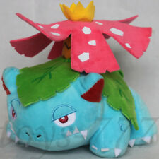 "Pokemon Center Venusaur 7"" Stuffed Animal Nintendo Ivysaur Bulbasaur Plush Toy"
