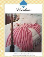Romantic Valentine Afghan to Crochet Single Pattern Vanna White