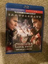 Marvel Captain America Civil War 3D Bluray 1 Disc Set ( No Digital HD)