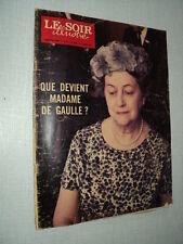 LSI 2020 (11/3/71) MADAME DE GAULLE FERNANDEL PIERRE BRASSEUR