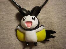 Pokemon Emolga Figure Charm Necklace Collectible Kawaii Cute Cool Jewelry