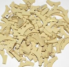 LEGO LOT OF 100 TAN 1 X 3 X 3 CASTLE ARCH TREE BRANCHES BRICKS PARTS