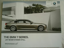 BMW 7 Series range brochure 2010 ed 2