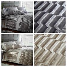 Portfolio Home - Murray Crushed Velvet Stripes Duvet Cover Set OR Accessories