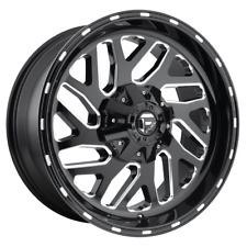 "4 Wheels Fuel 1Pc TRITON Gloss Black Milled 20x12"" Chevy/GM HD  Rims 8x180  -43"