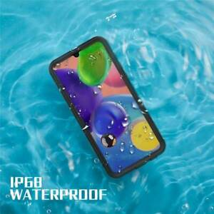 Fr Samsung Galaxy A01 A11 A21 Case 360 Protective IP68 Waterproof Aluminum Cover