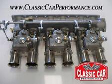 Jaguar XKE E-type Triple WEBER DCOE 45MM CARBURETOR kit