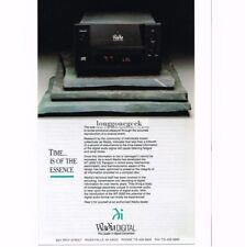 1991 Wadia Digital  WT-2000 CD Player Transport Stereo Hi-Fi Vtg Print Ad