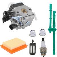 Carburetor Air Fuel Filter kit fits Stihl MM55 MM55C Tiller 46011200600 C1Q-S202
