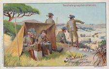 38/710 SAMMELBILD DEUTSCHE KOLONIEN FELDTELEGRAPHENSTATION NACHRICHTEN SOLDAT