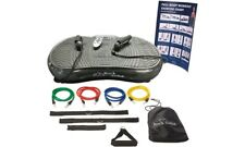 Rock Solid Whole Body Vibration Platform Plate Machine w Remote RS2000 - NEW