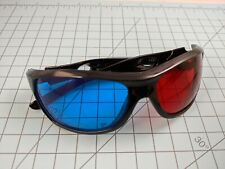 Red Blue/Cyan Anaglyph 3D glasses ellipse for 3D Movies Photos TVs