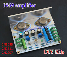 2016 1969 amplifier class A amplifier HIFI Board high quality MOT 2N3055 DIY Kit