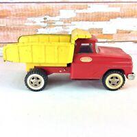 1962 TONKA Dump Farm Truck Mound Minn Die Cast Duelly Orig Red Yellow 2916851