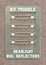 HEADLIGHT VISOR, BUG DEFLECTORS FOR CAB UNITS HO SCALE KV MODELS KV-1017H